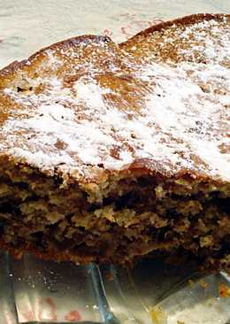 Almás-diós fahéjas torta