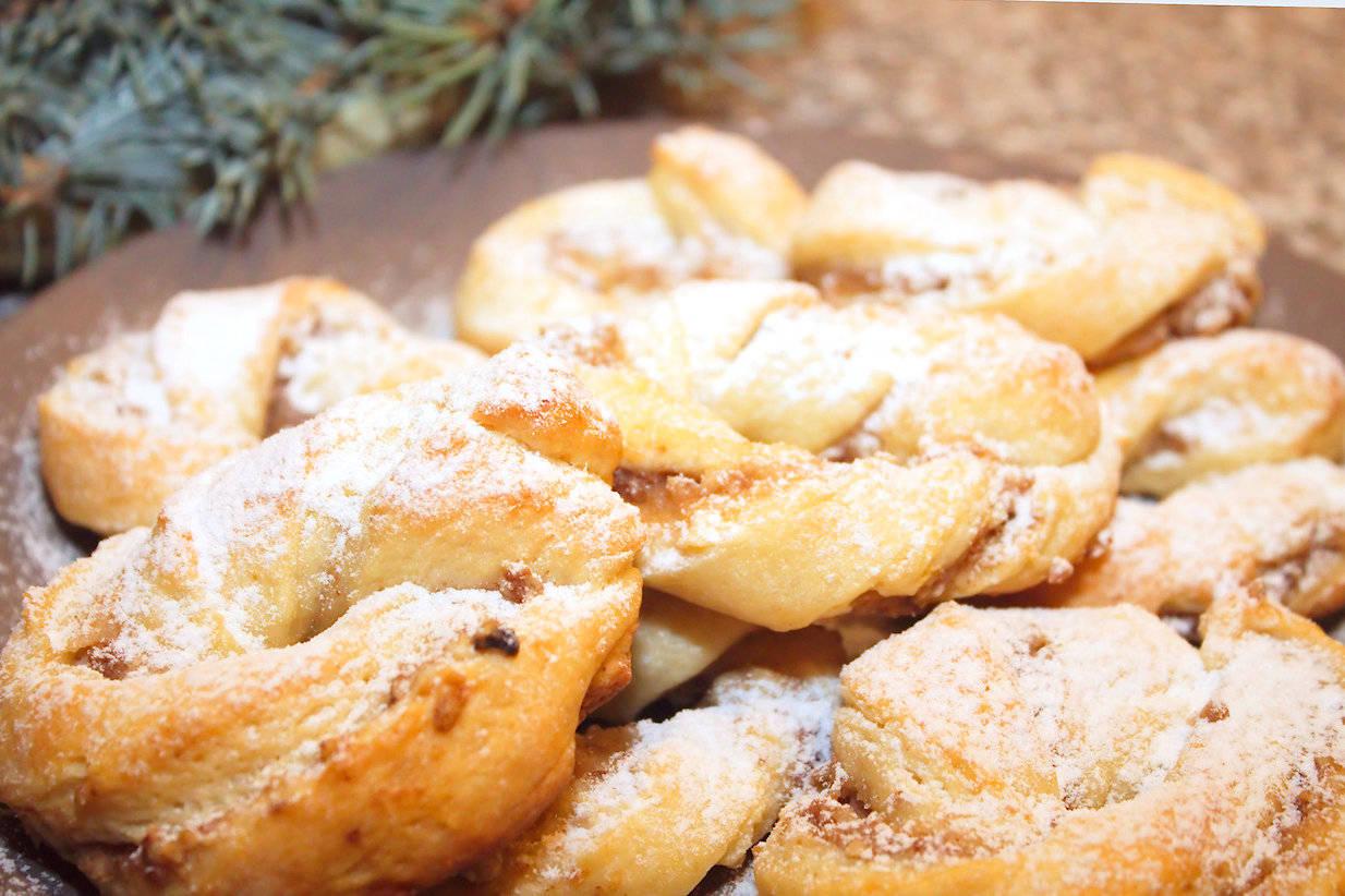 Almás-diós koszorú recept főfotó
