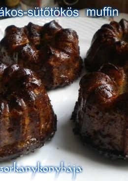 Almás-mákos-sütőtökös muffin (Gluténmentes, tejmentes, cukormentes!)
