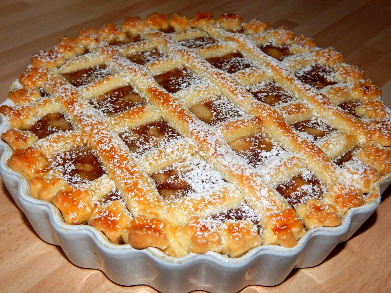 Rácsos almás pite recept főfotó