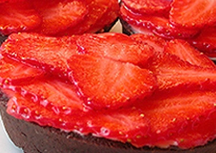 Epres kosárka recept (Tarte aux fraises et au mascarpone)