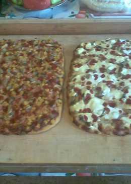 Finom pizza