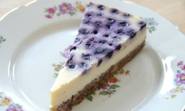 Áfonyás sajttorta recept (Blueberry Cheesecake) főfotó