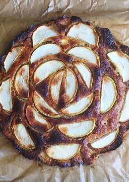 Fahéjas-gyömbéres almàs pite (glutén- és tejmentes)