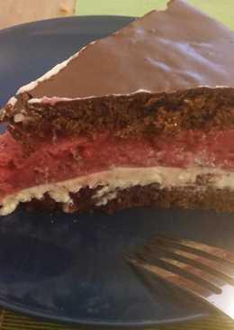 Málna torta Dominiknak