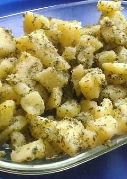 Petrezselymes burgonya recept