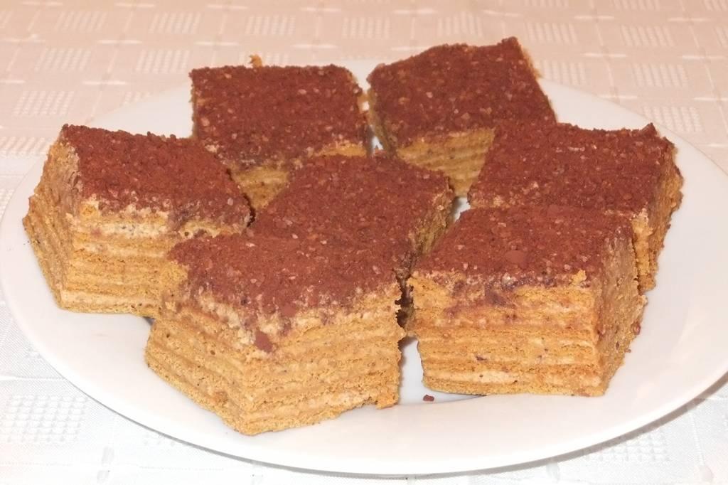 Mogyorós marlenka recept főfotó