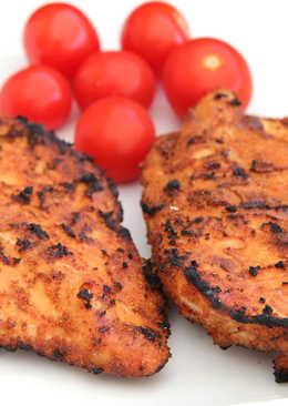 Grillezett csirkemell szárazpácban