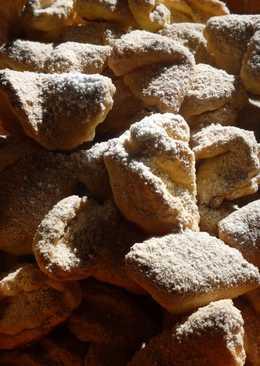 Túrós-cukros sütemény