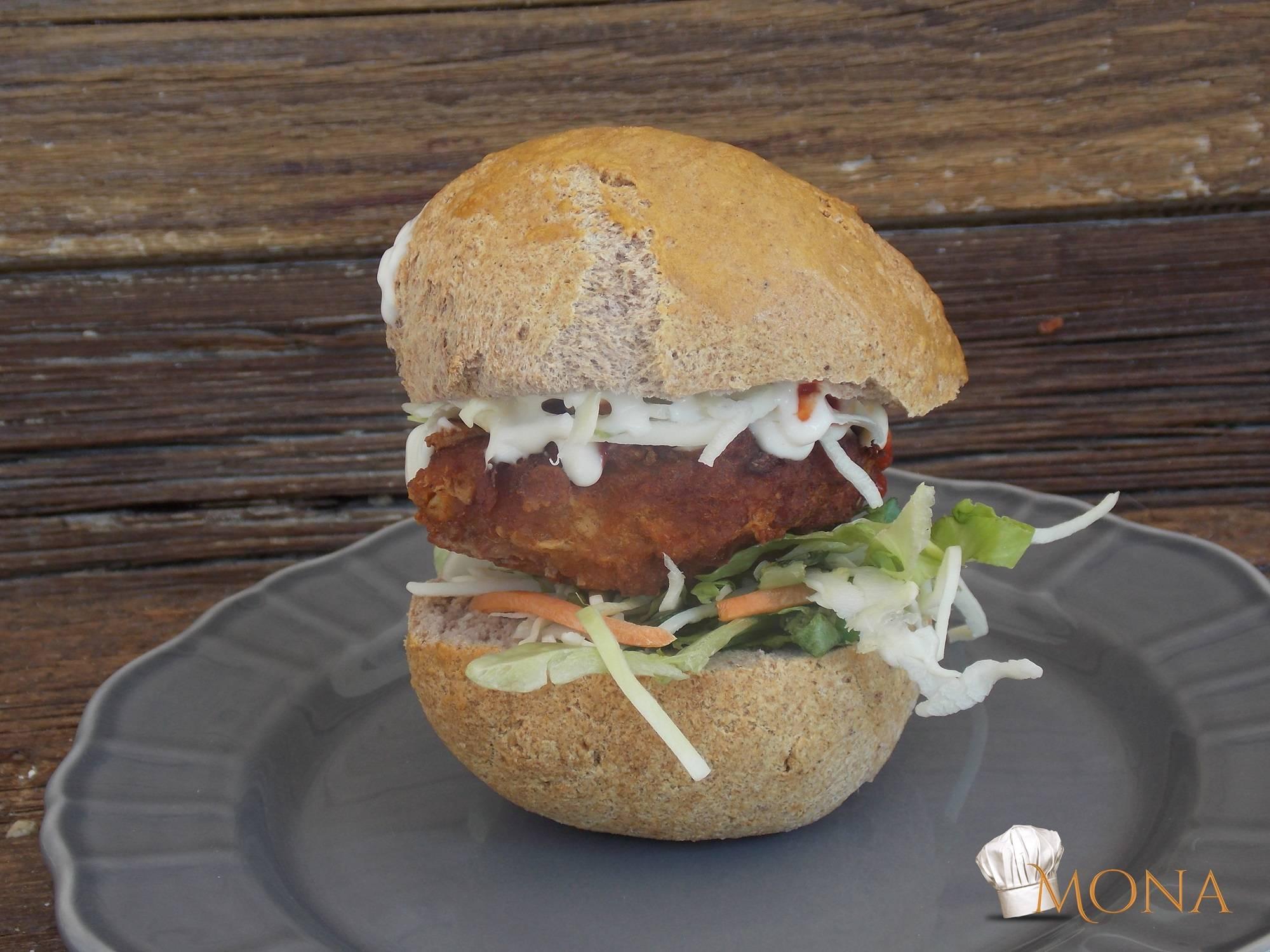 Extra diétás hamburger zsemle recept főfotó
