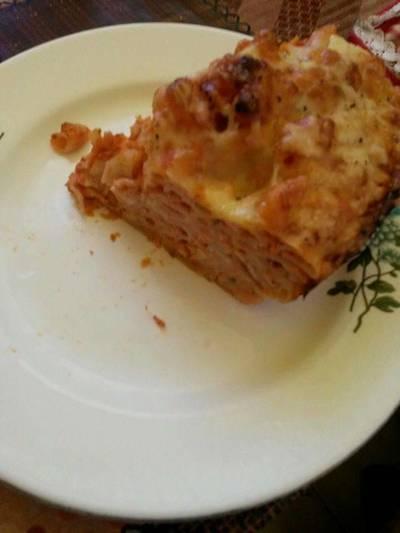 Olasz rakott tészta