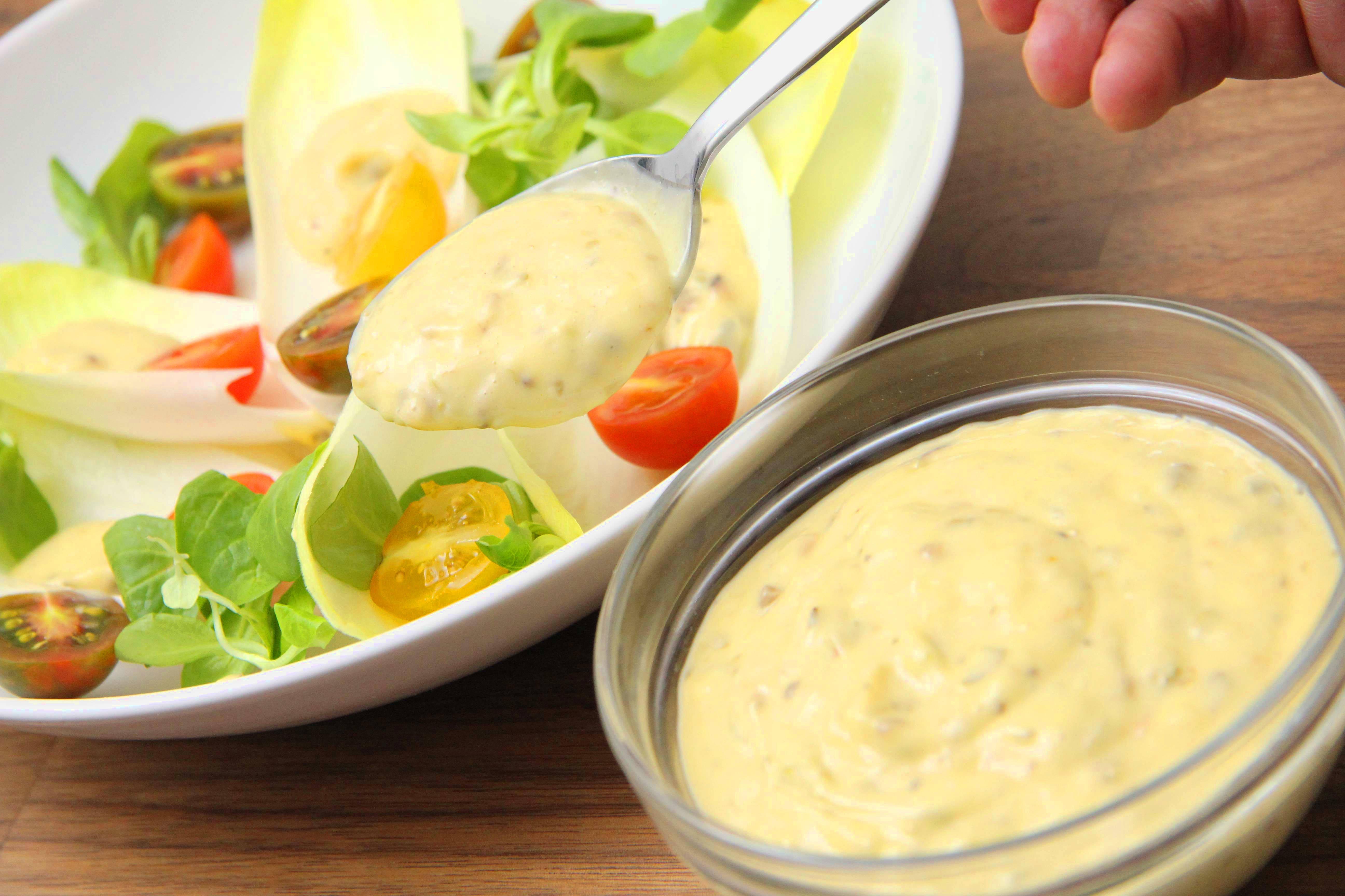 Caesar salátaöntet recept főfotó