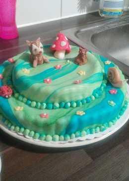 Nyújtható fondant tortákra