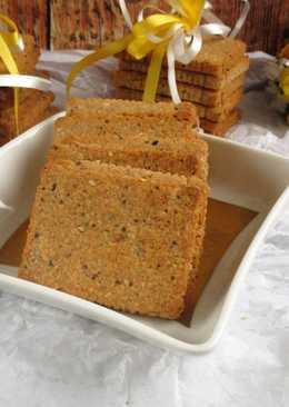 Parmezános magos keksz paleo