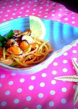 Citromos kagylós spagetti