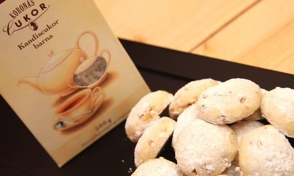 Kandiscukros aprósütemény recept főfotó
