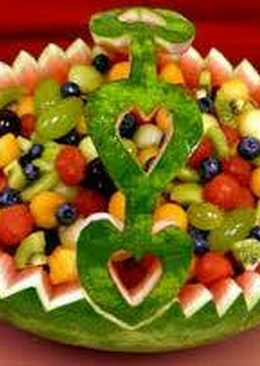 Görögdinnye torta