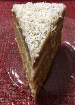Kókuszos sárgarépa torta, tojás, tejtermék és gluténmentesen