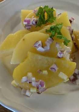 Osztrák burgonyasaláta (erdäpfel)