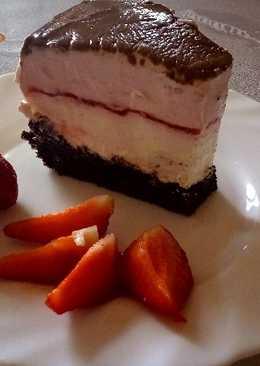 Epres csokis joghurttorta