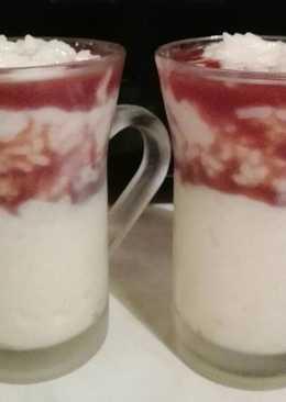 Csokilikőrös tejberizs