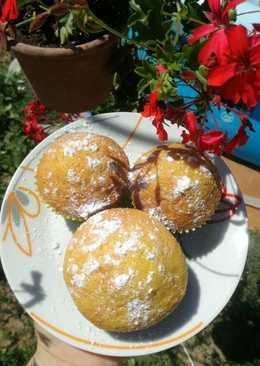 Citromos-mazsolás muffin