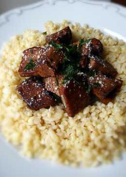 Vegan pácolt tofu