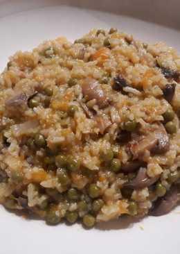 Gombás rizibizi, hús nélkül