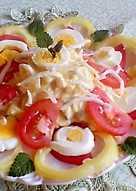 Tojásos saláta, házi majonézzel