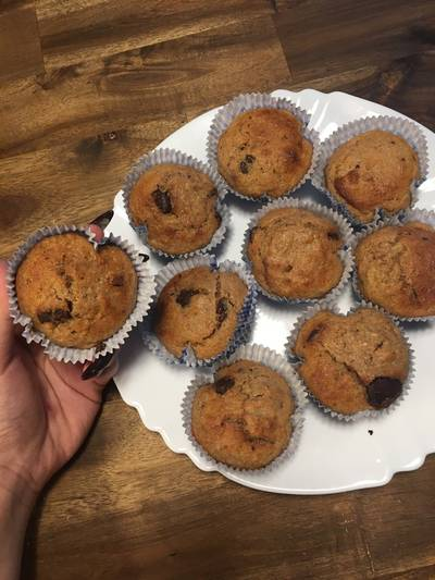 Csokis banános muffin 🍌