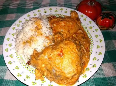 Paprikás csirke gombával