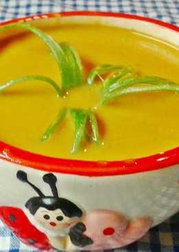 Gyömbéres-currys sárgarépa-kémleves🍲