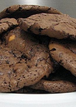 Keserűcsokoládés korong (Cookies)