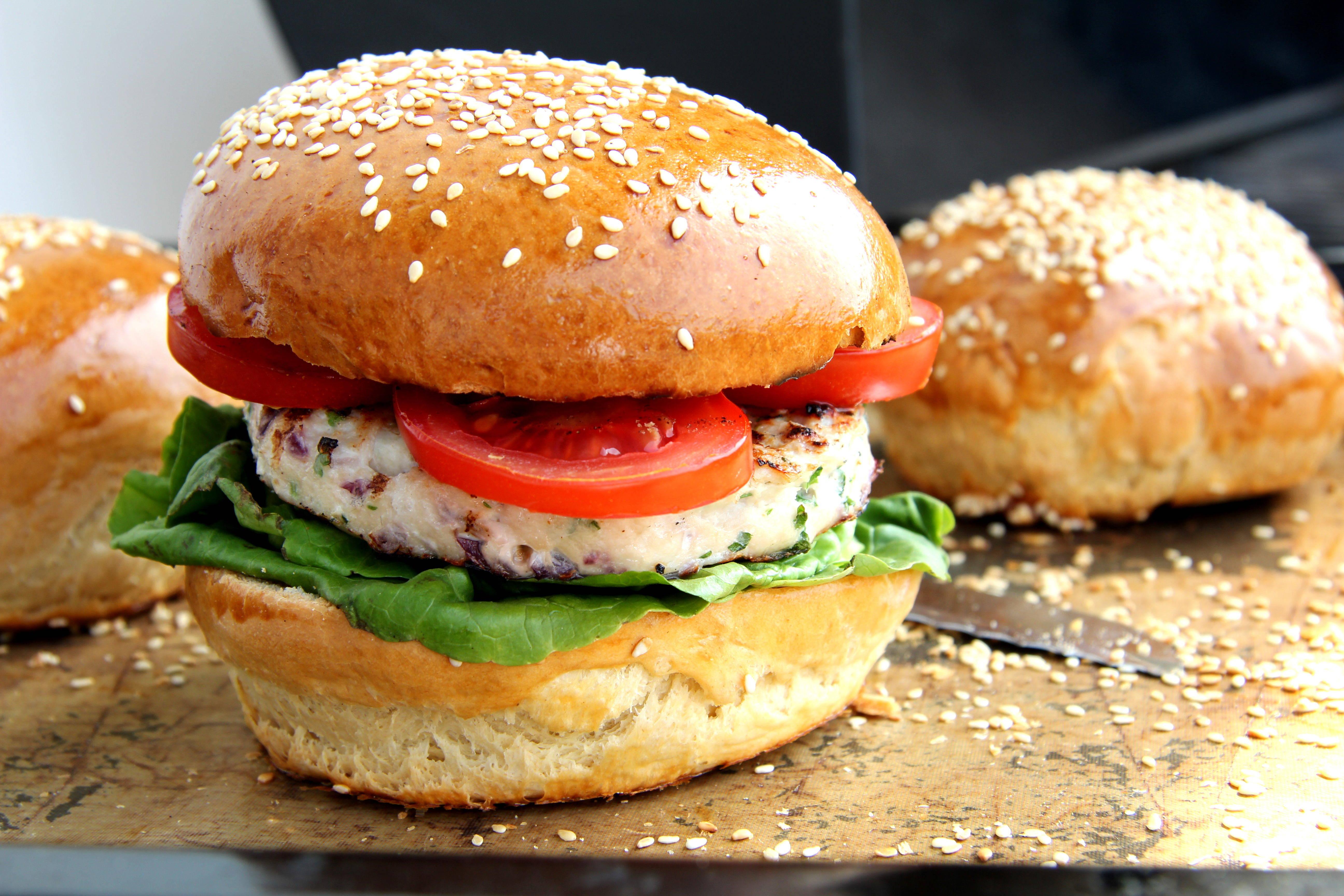 Pulykaburger recept főfotó