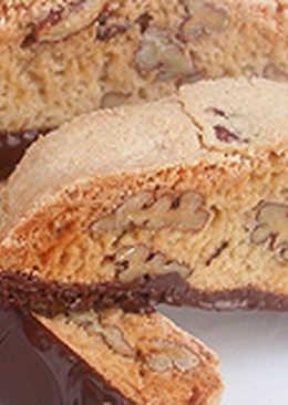 Pekándiós biscotti
