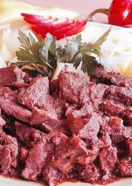 Szalonnás-húsos resztelt máj