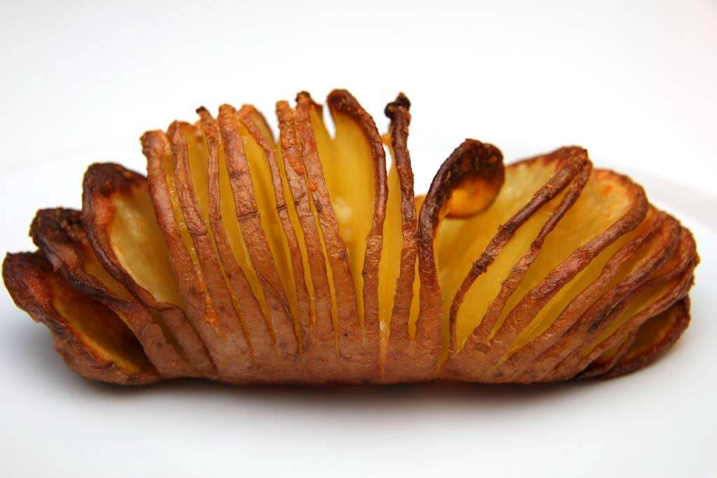 Hasselback burgonya recept főfotó
