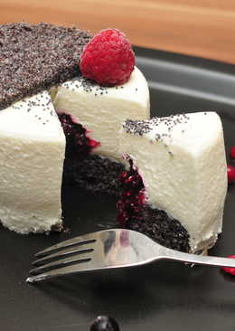 Fehércsokoládé mousse tortácska