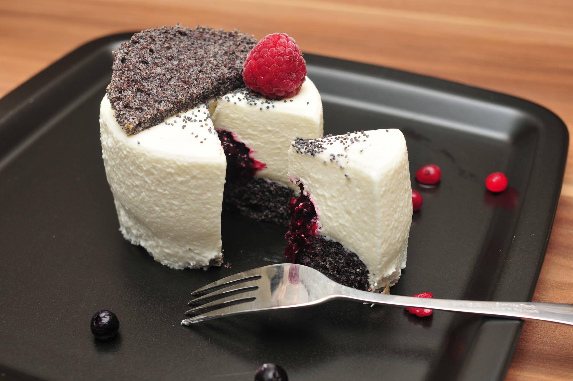 Fehércsokoládé mousse tortácska recept főfotó