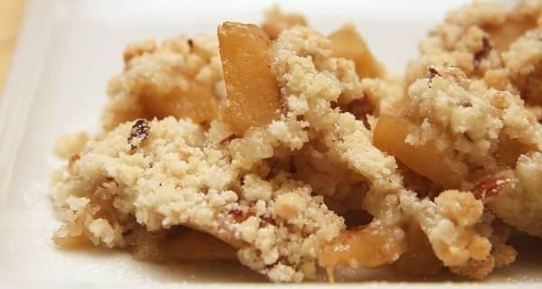 Almás crumble recept főfotó
