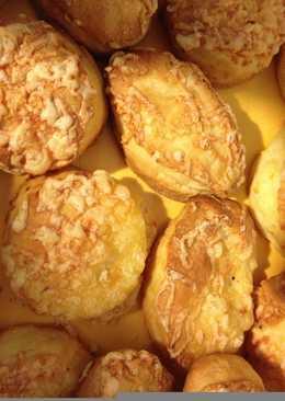 Hajtogatós sajtos pogácsa