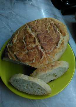Bögrés kenyér, kelesztés nélkül