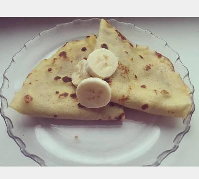 Banános palacsinta tészta