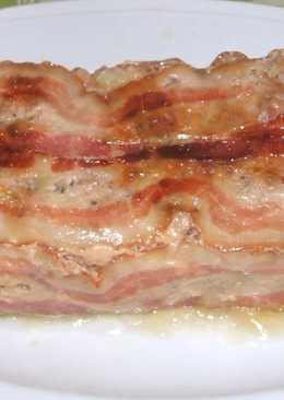 Fasírozott bacon szalonnával