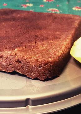 Almás-fahéjas brownie (cukormentes, vegán)