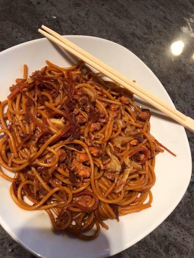 Kínai pirított tészta Kittina módra