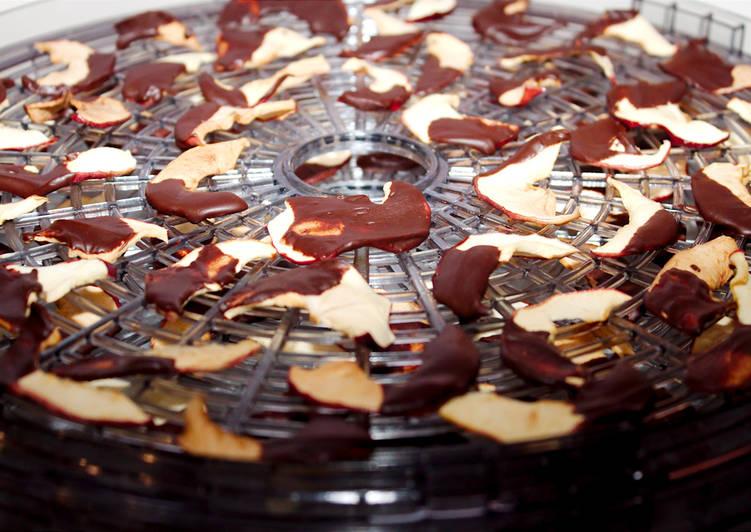 Csokis alma chips