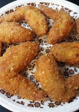 Csilis csipszmorzsás csirkeszárny