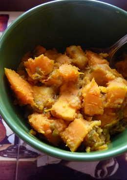 Indiai sült zöldségek mungóbabbal