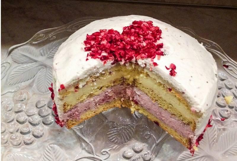 Reform tőzegáfonyás eper-vaníliamousse torta főfotó
